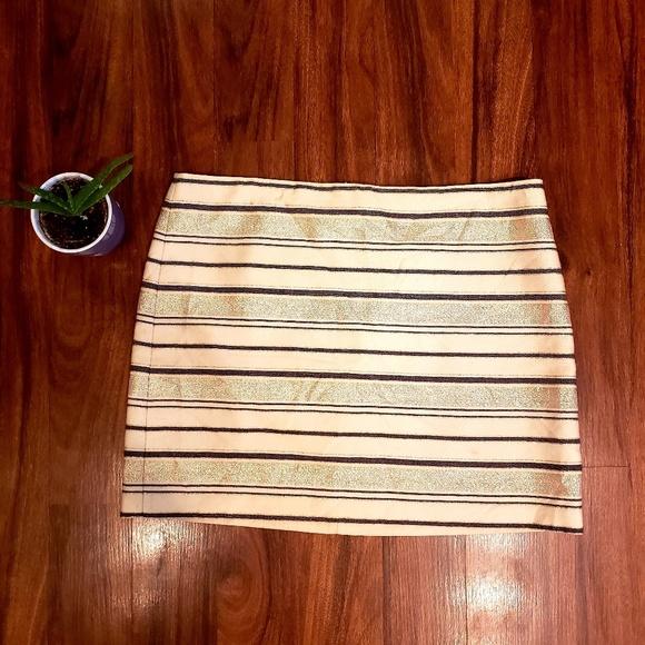 J. Crew Dresses & Skirts - J. Crew striped mini skirt